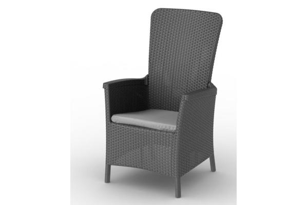 Canberra reclining chair graphite