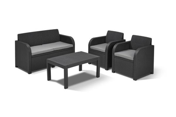 Carolina loungeset grafiet
