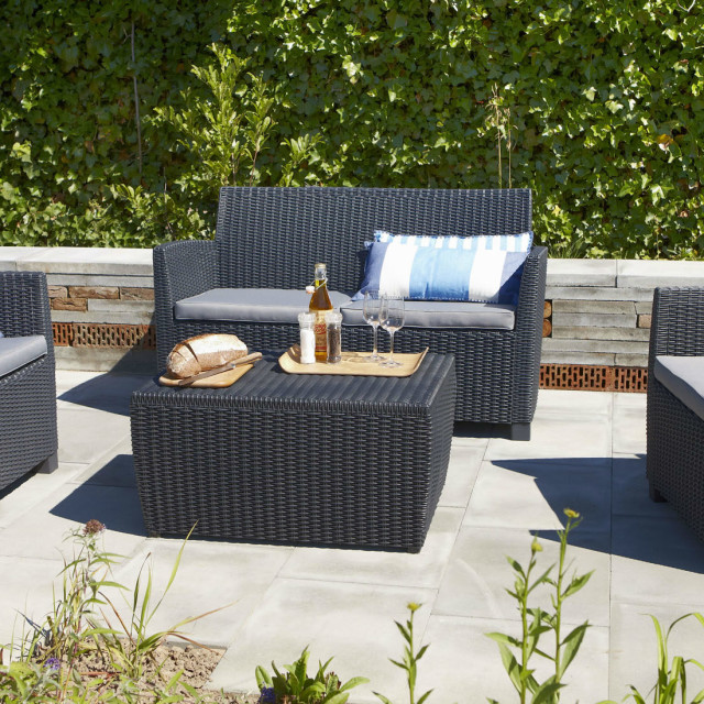 Allibert Corona loungeset grafiet
