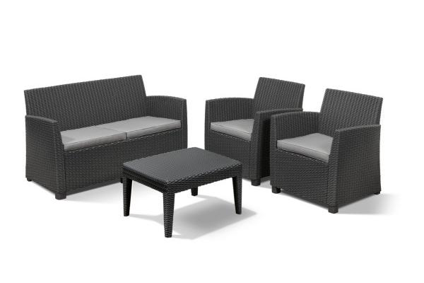 Corona lounge set graphite