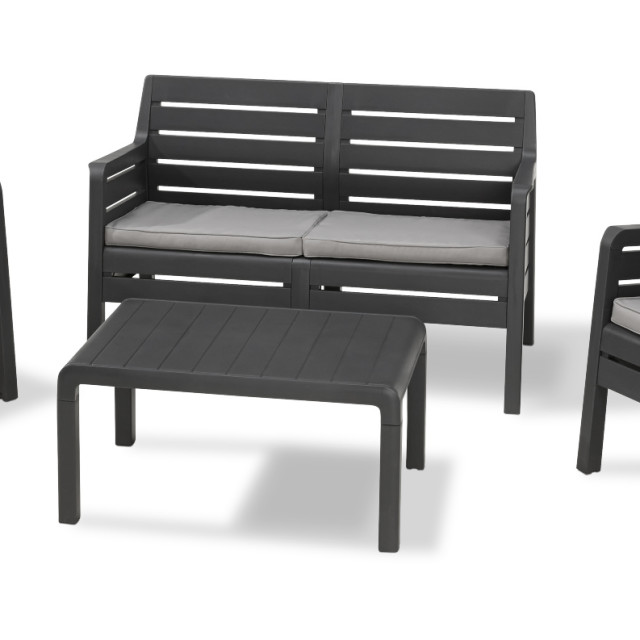 Allibert Dana Lounge Set Graphit