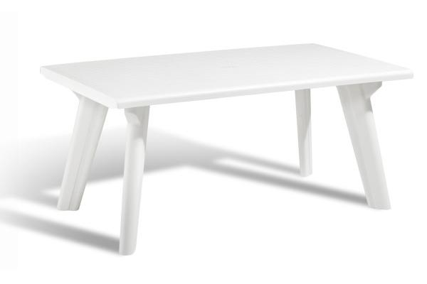 Dante garden table white