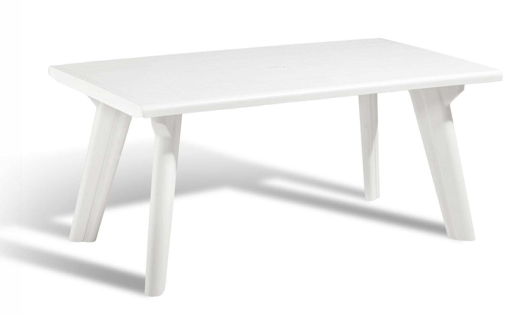 allibert dante garden table white allibert. Black Bedroom Furniture Sets. Home Design Ideas