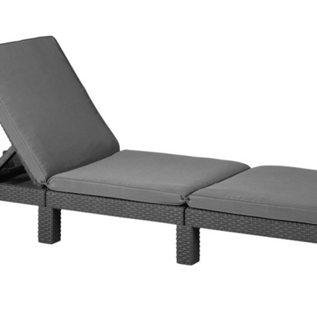 Allibert Daytona sunlounger Graphit