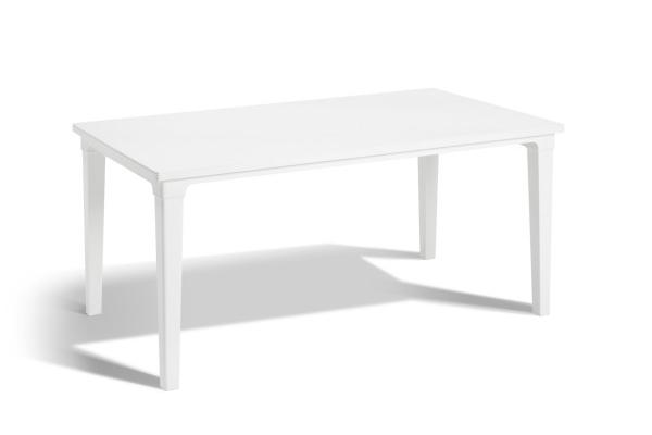 Futura garden table white