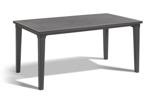 Futura table de jardin graphite