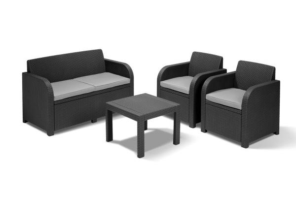 Georgia lounge set graphite
