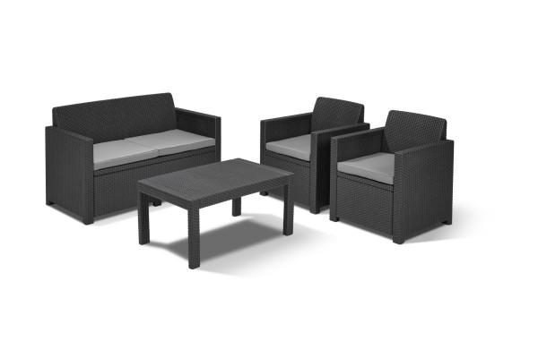 Merano lounge set graphite