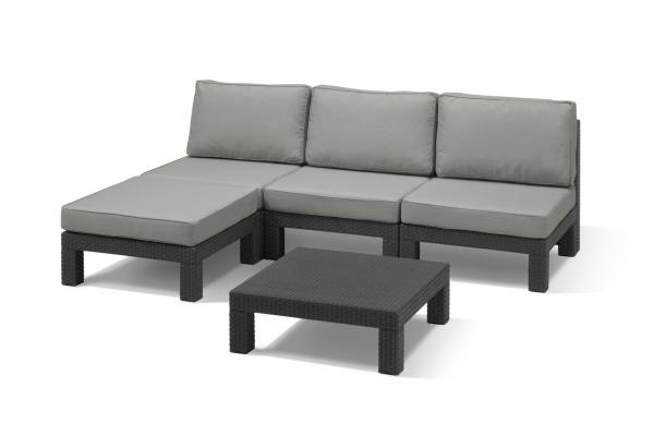 Nevada lounge set graphite
