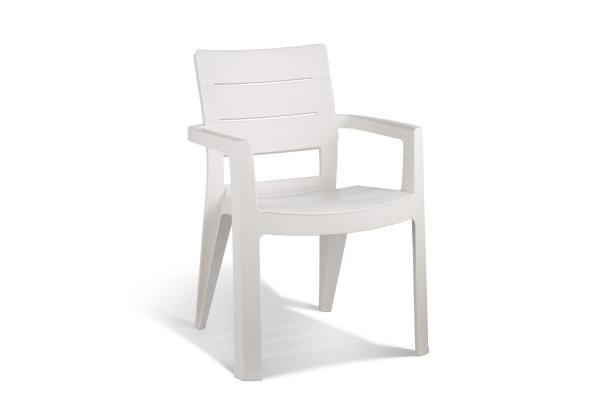 Ibiza garden chair white