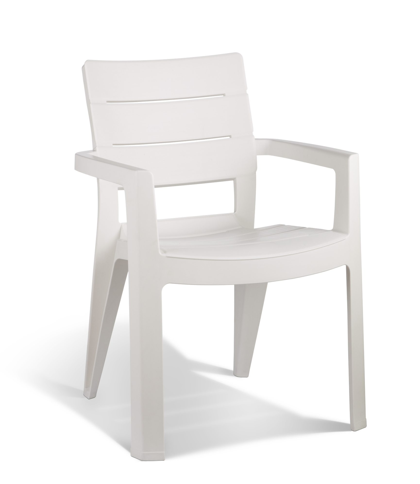 allibert ibiza garden chair white allibert. Black Bedroom Furniture Sets. Home Design Ideas