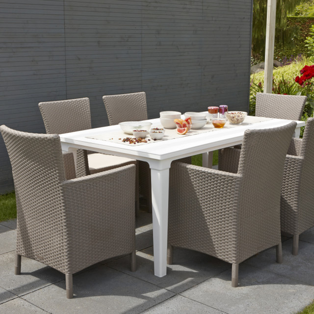 Allibert Futura garden table white