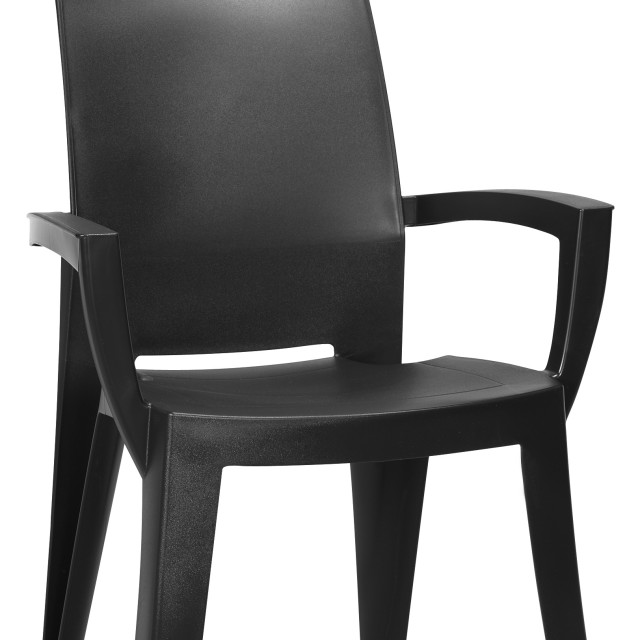 Allibert Lago garden chair graphite