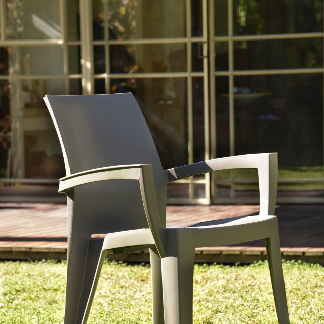 Allibert Lago garden chair cappuccino
