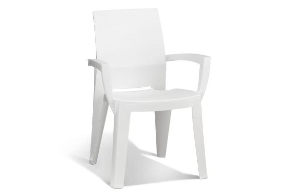 Lago garden chair white