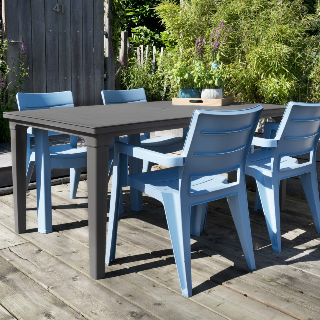 Allibert Ibiza garden chair blue