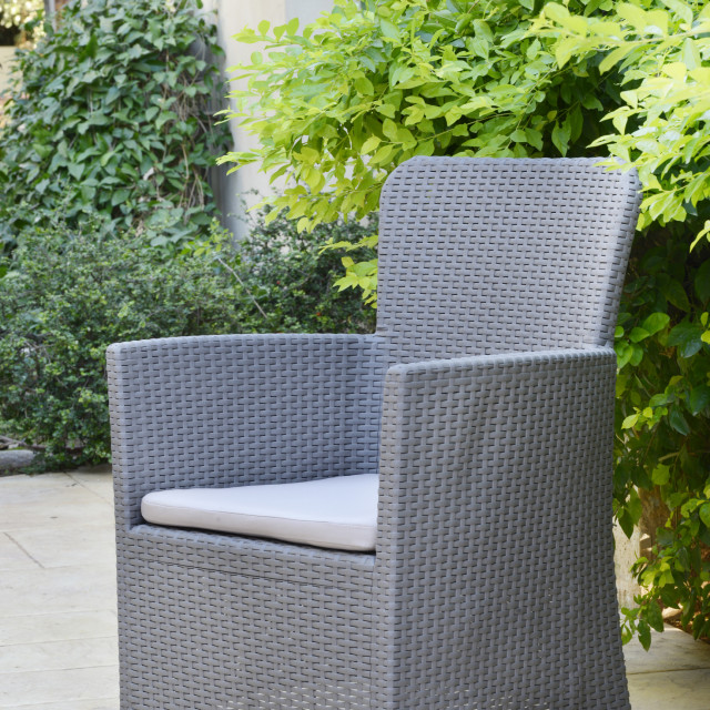 Allibert Salvador ensemble de balcon, coloris graphite