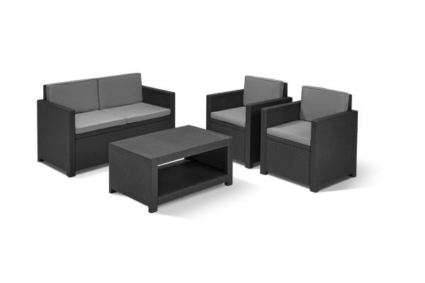 salon de jardin ensembles de salons allibert. Black Bedroom Furniture Sets. Home Design Ideas