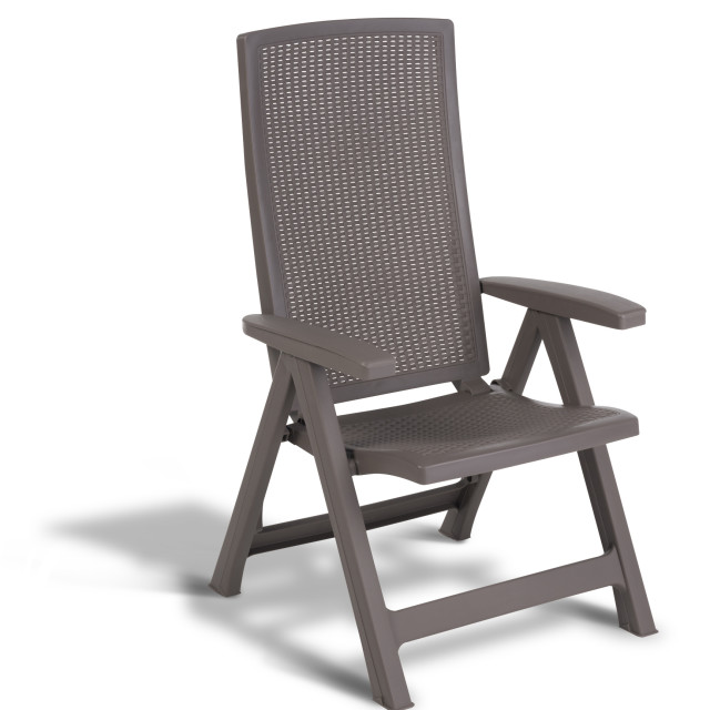 Allibert Montreal reclining chair cappuccino