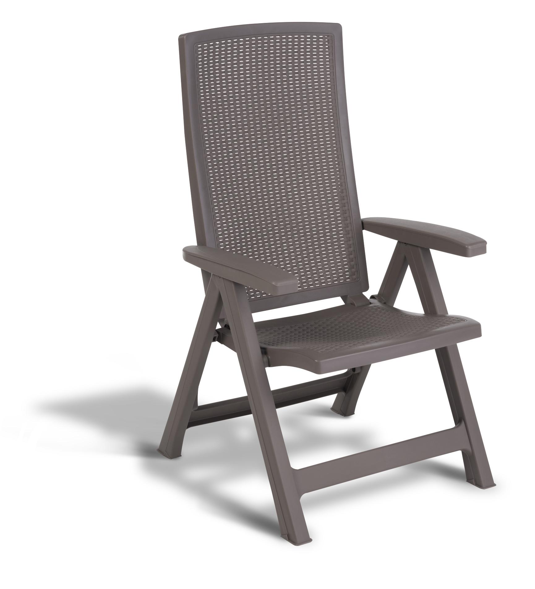 allibert montr al chaise r glable cappuccino allibert. Black Bedroom Furniture Sets. Home Design Ideas