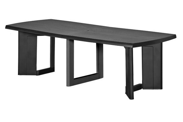 New York 320 table de jardin graphite