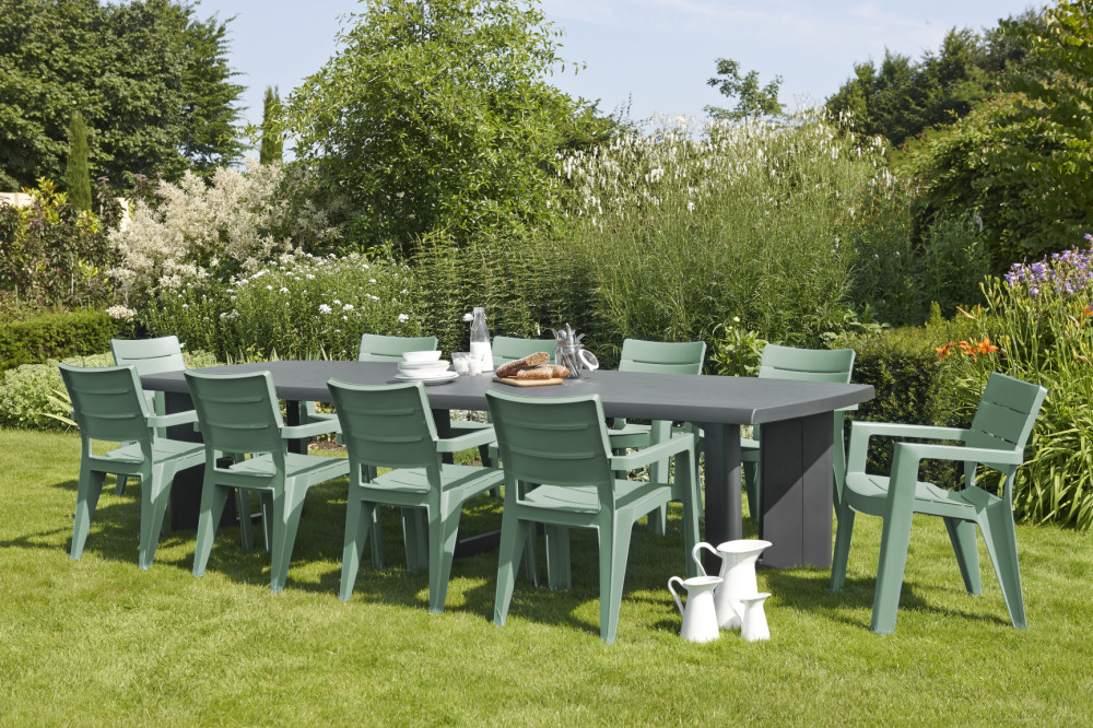 D co table de jardin new york allibert villeurbanne 19 for Jardin new york
