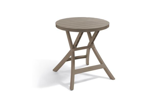 Oregon folding table cappuccino