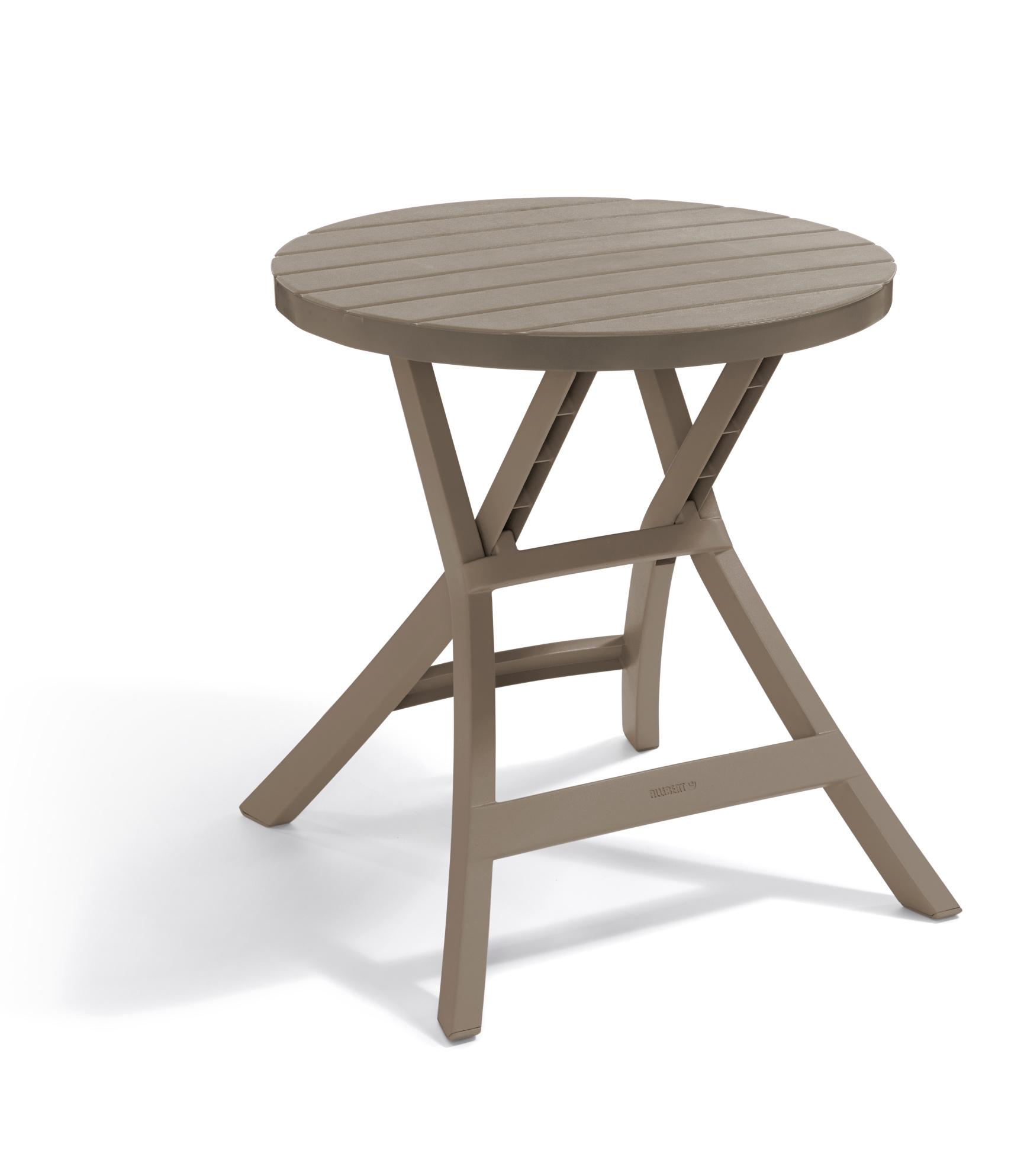 allibert oregon table pliante cappuccino allibert. Black Bedroom Furniture Sets. Home Design Ideas