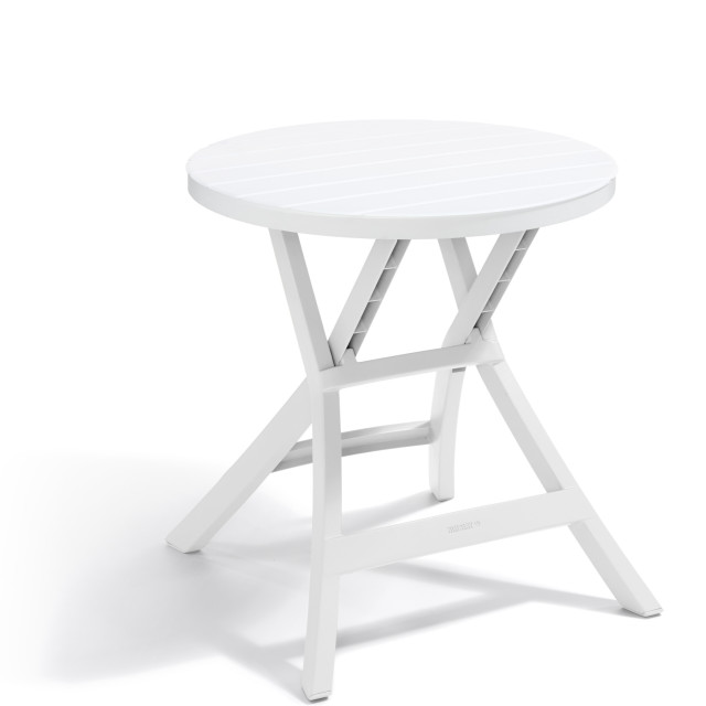 Allibert Oregon table pliante blanche