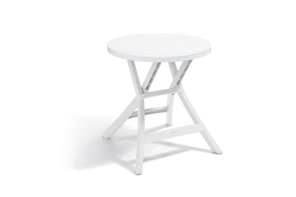 Oregon folding table white