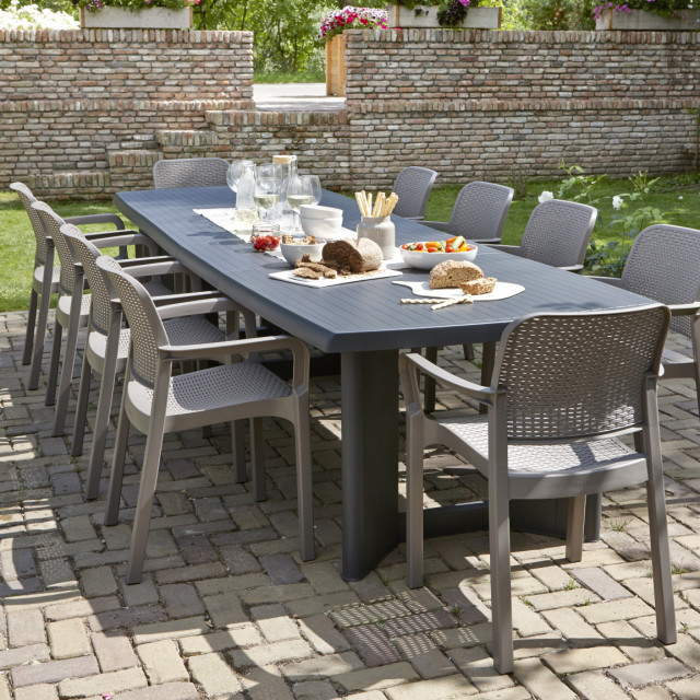 Allibert New York 320 Gartentisch Graphit