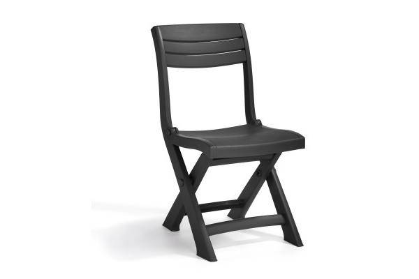 Tacoma bistro chair graphite