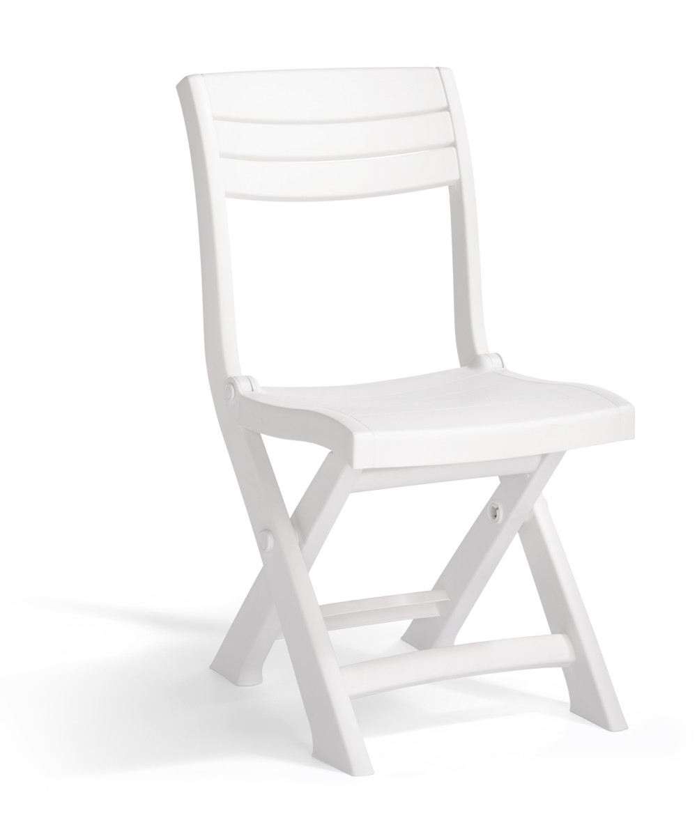 Allibert Tacoma Bistro Chair White