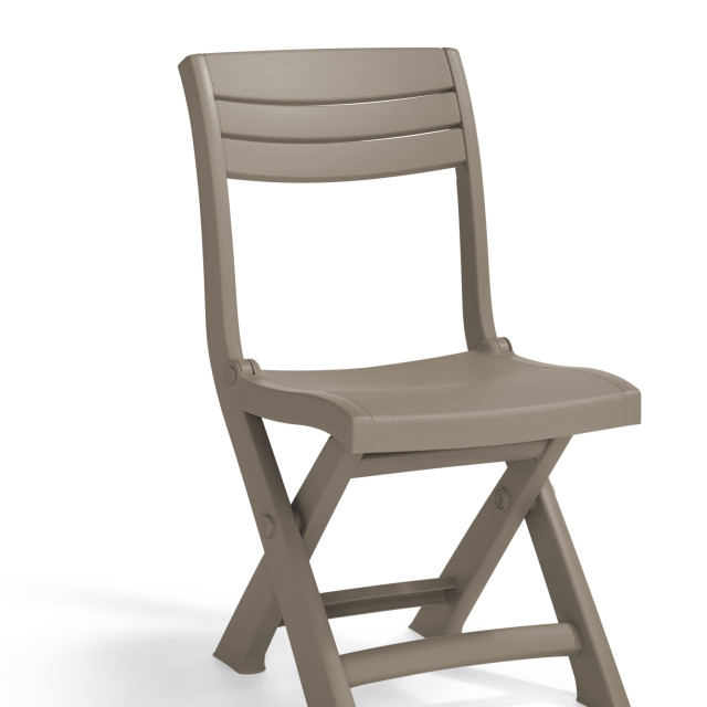 Allibert Tacoma bistro chair cappuccino