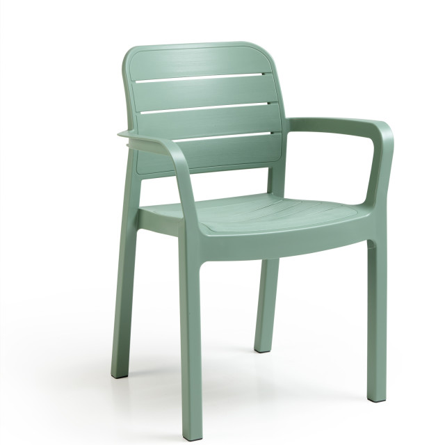 Allibert Tisara stackable chair green