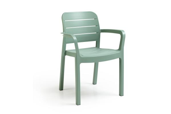 Tisara stackable chair green