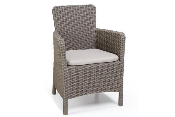 Trenton garden chair cappuccino