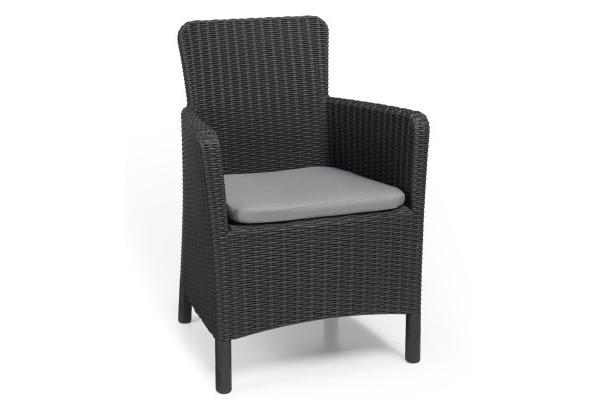 Trenton garden chair graphite