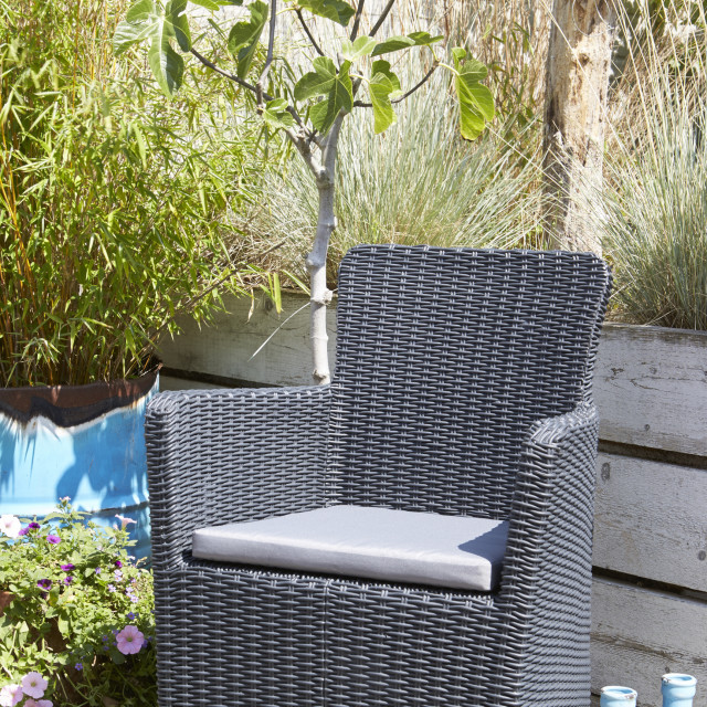 Allibert Trenton garden chair cappuccino