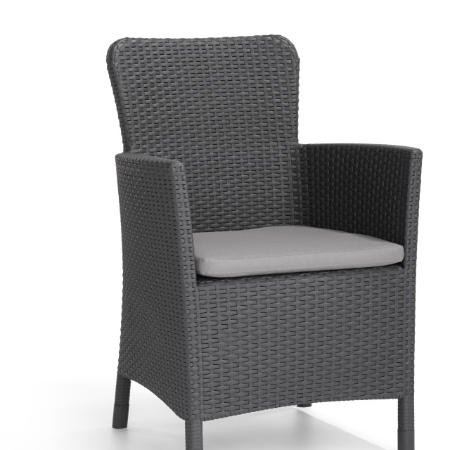 Allibert Miami ensemble de balcon graphite
