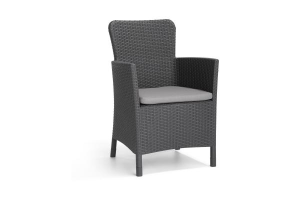 Miami garden chair graphite