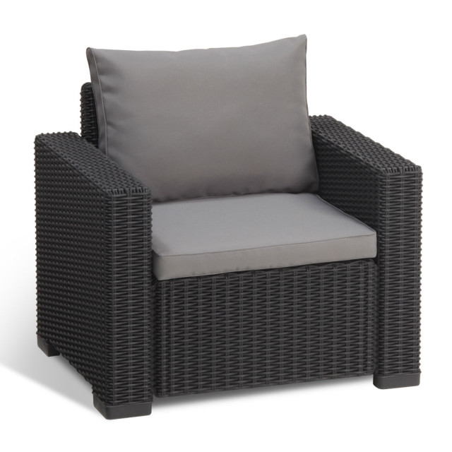 Allibert Moorea Lounge Set Graphit