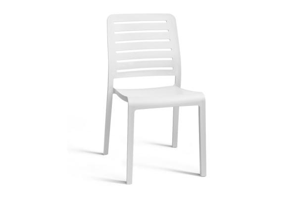 Chaise Charlotte Country coloris blanc