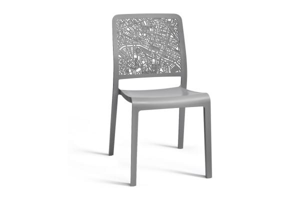 Charlotte City chair light grey