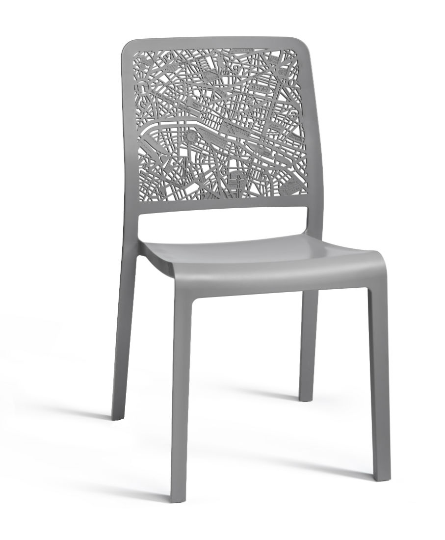 allibert charlotte city chaise gris allibert. Black Bedroom Furniture Sets. Home Design Ideas