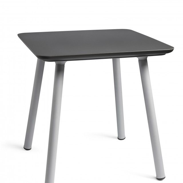 Allibert Julien table manganese gray