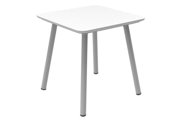 Julien table white-grey