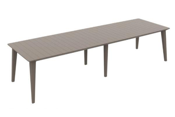 Lima 320 table de jardin cappuccino