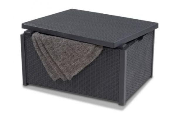 Arica cushion box graphite