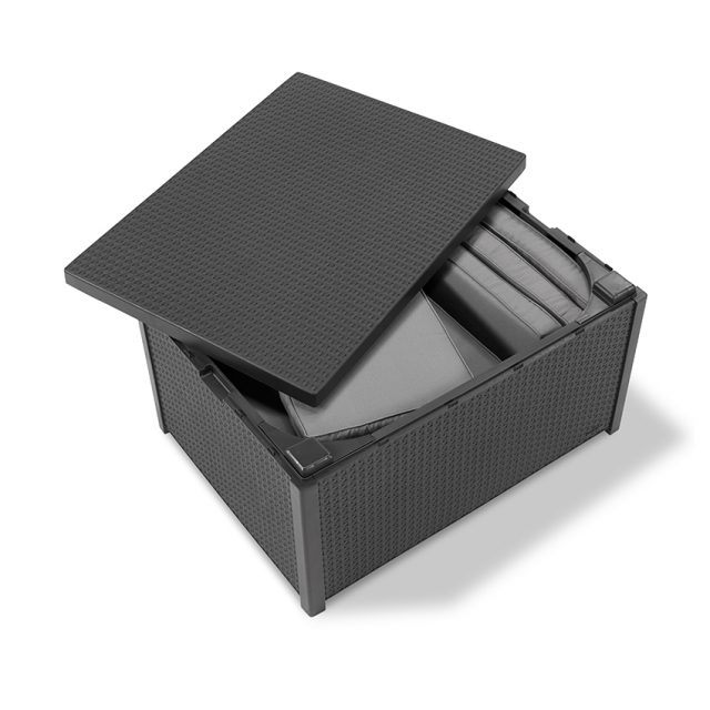 Allibert Arica cushion box graphite